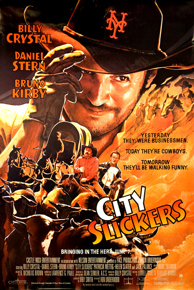 City Slickers 1991 U.S. One Sheet Poster