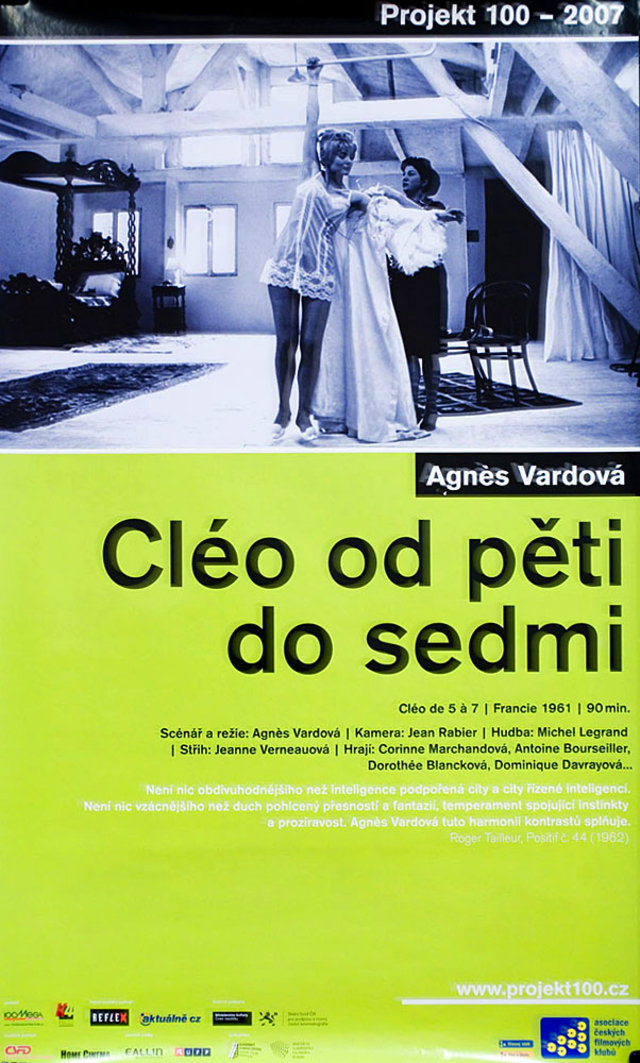 Cleo from 5 to 7 R2007 Czech A1 Poster