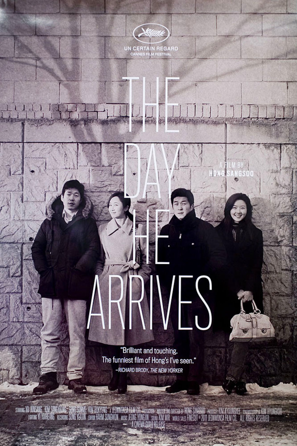 The Day He Arrives 2011 U.S. One Sheet Poster