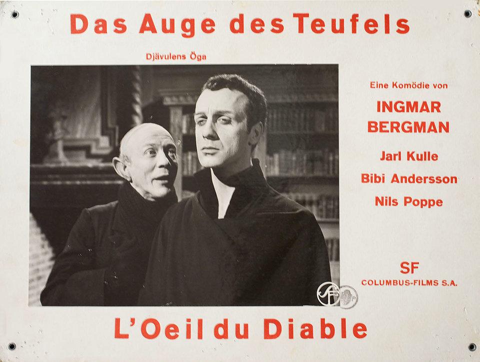 The Devil's Eye 1960 Swiss Scene Card