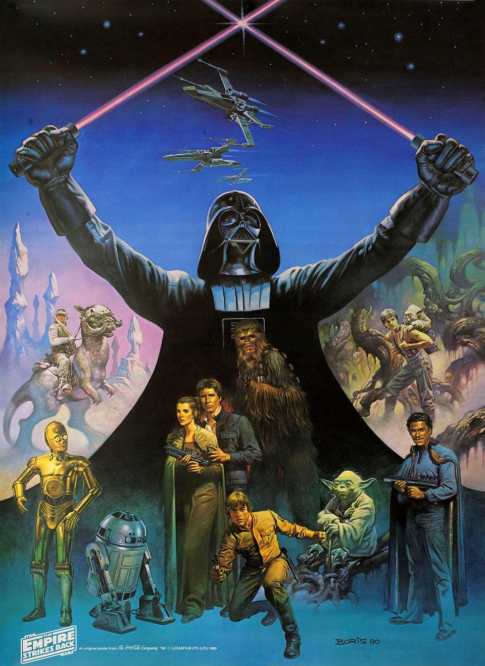 The Empire Strikes Back 1980 U.S. Poster