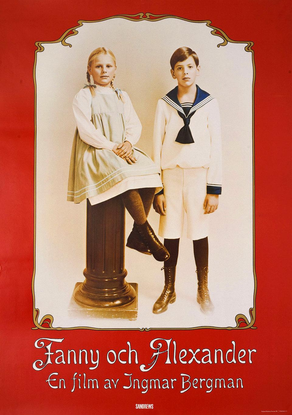 Fanny and Alexander 1982 Swedish B1 Poster