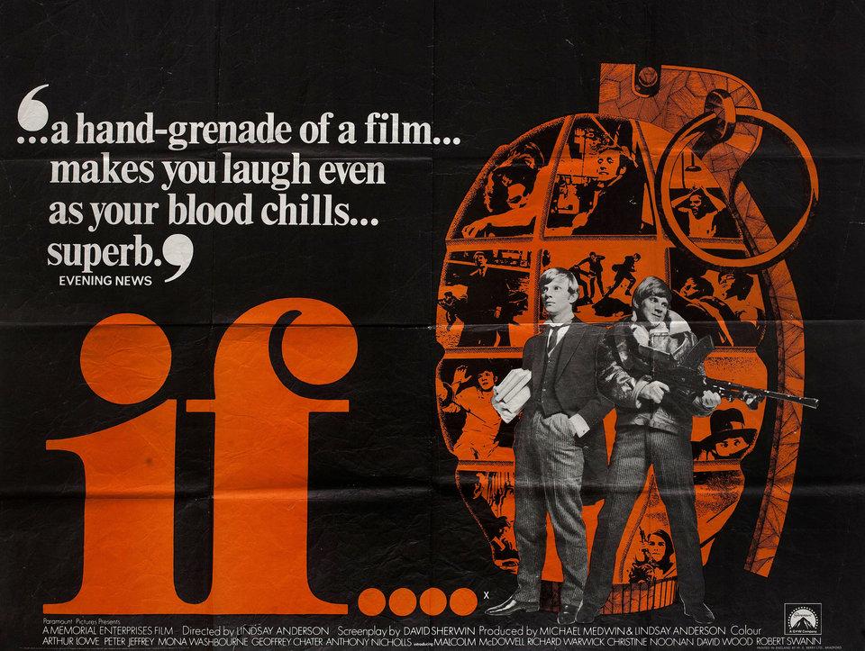 If.... 1969 British Quad Poster - Posteritati Movie Poster Gallery