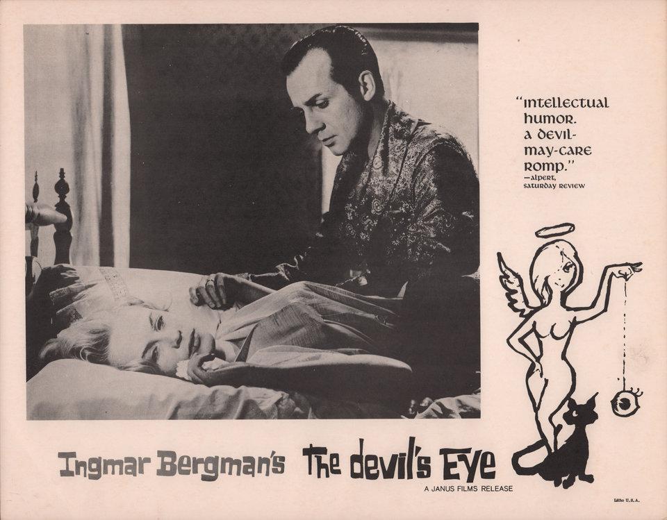 The Devil's Eye 1960 U.S. Scene Card