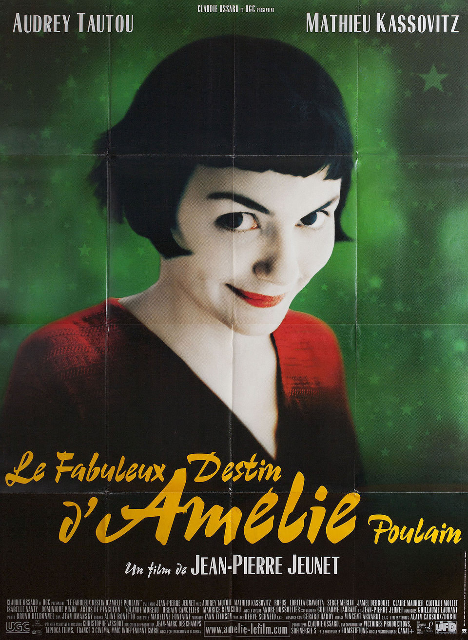 Amelie 2001 French Grande Poster