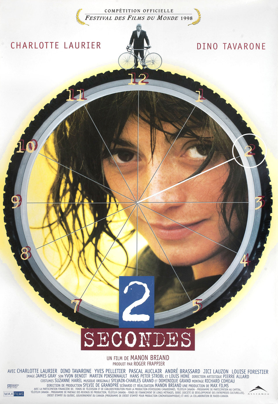 2 Seconds 1998 Canadian One Sheet Poster