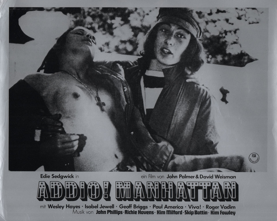 Ciao Manhattan 1974 German Scene Card