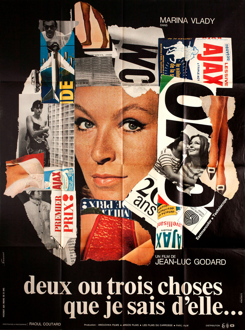 Two or Three Things I Know About Her... 1967 French Grande Poster