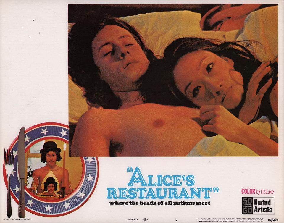 Alice's Restaurant 1969 U.S. Scene Card
