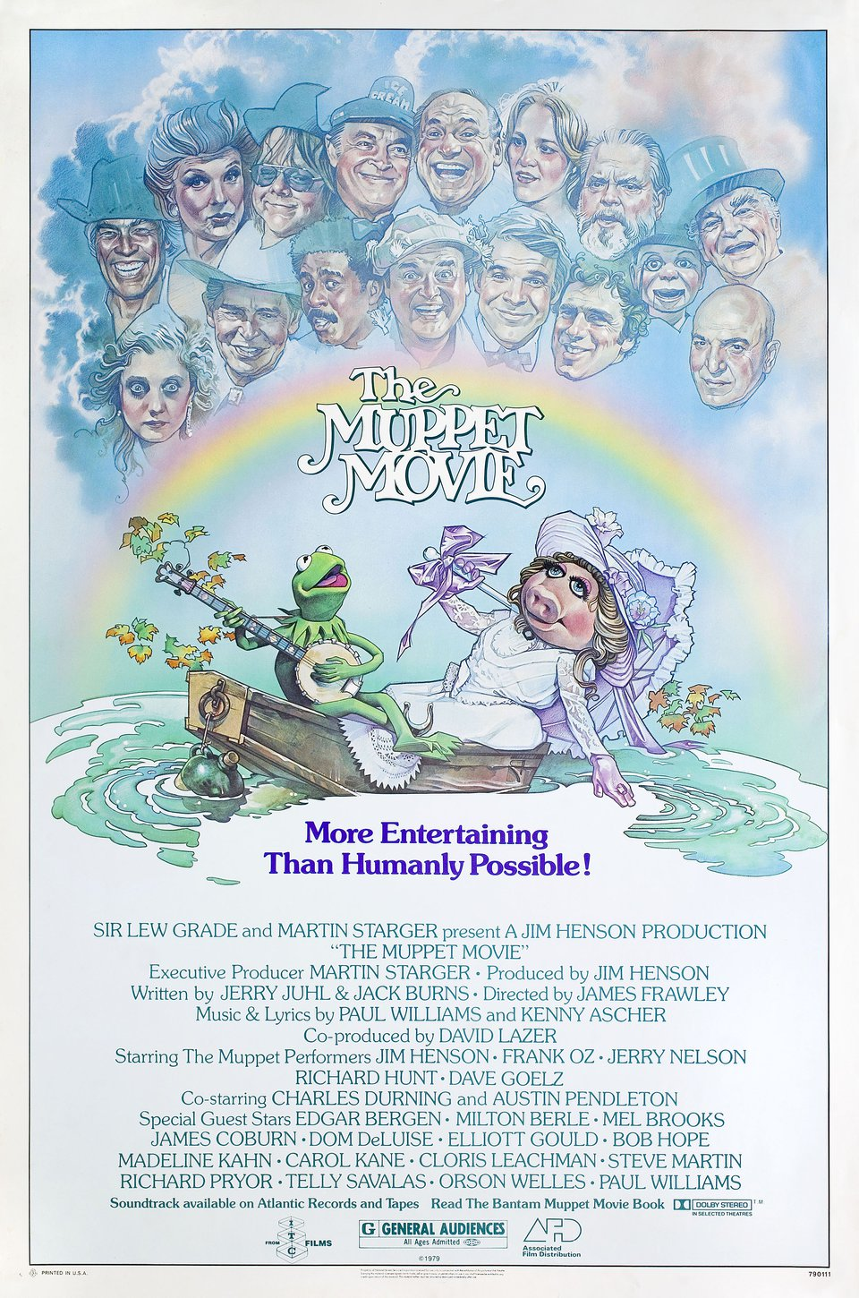 The Muppet Movie 1979 U.S. One Sheet Poster