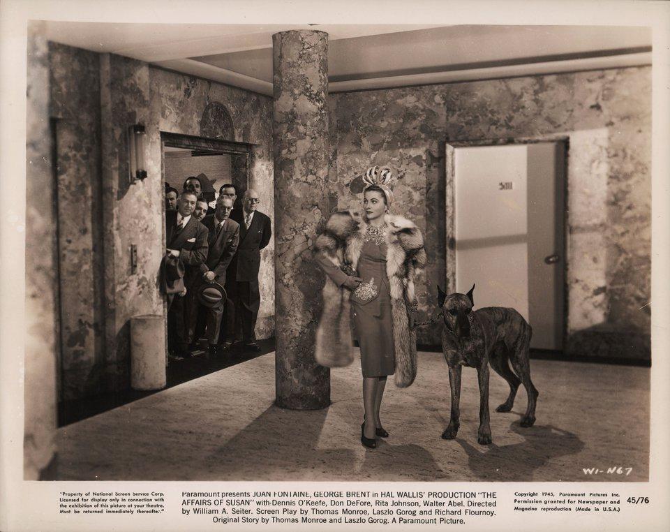 The Affairs of Susan 1945 U.S. Silver Gelatin Single-Weight Photo