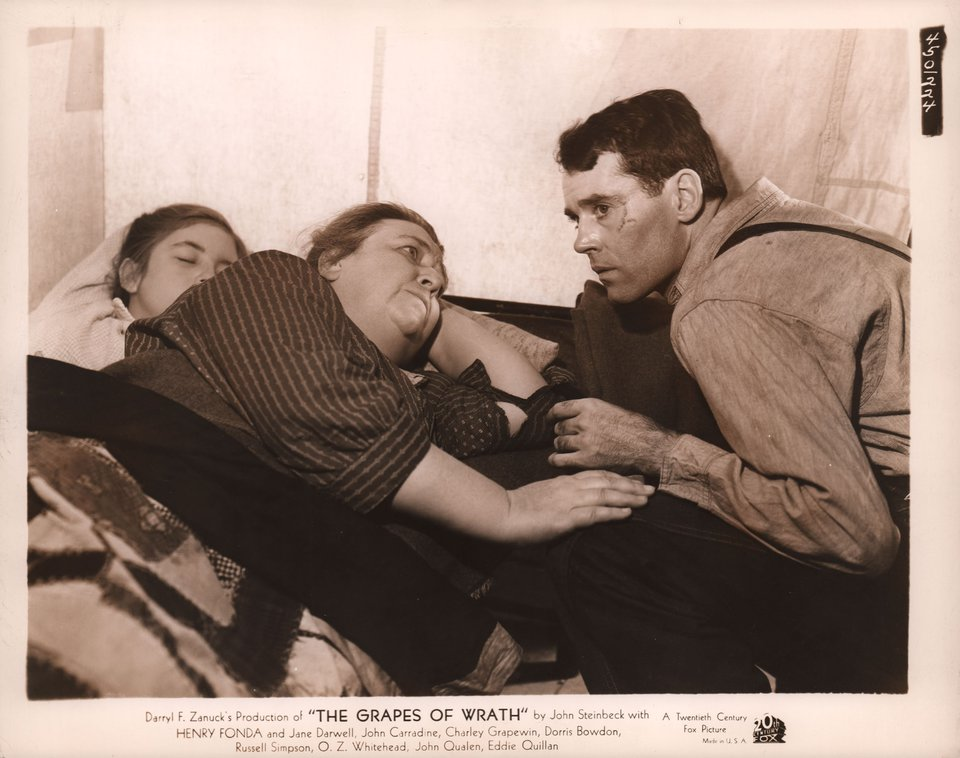 The Grapes of Wrath 1940 U.S. Silver Gelatin Single-Weight Photo