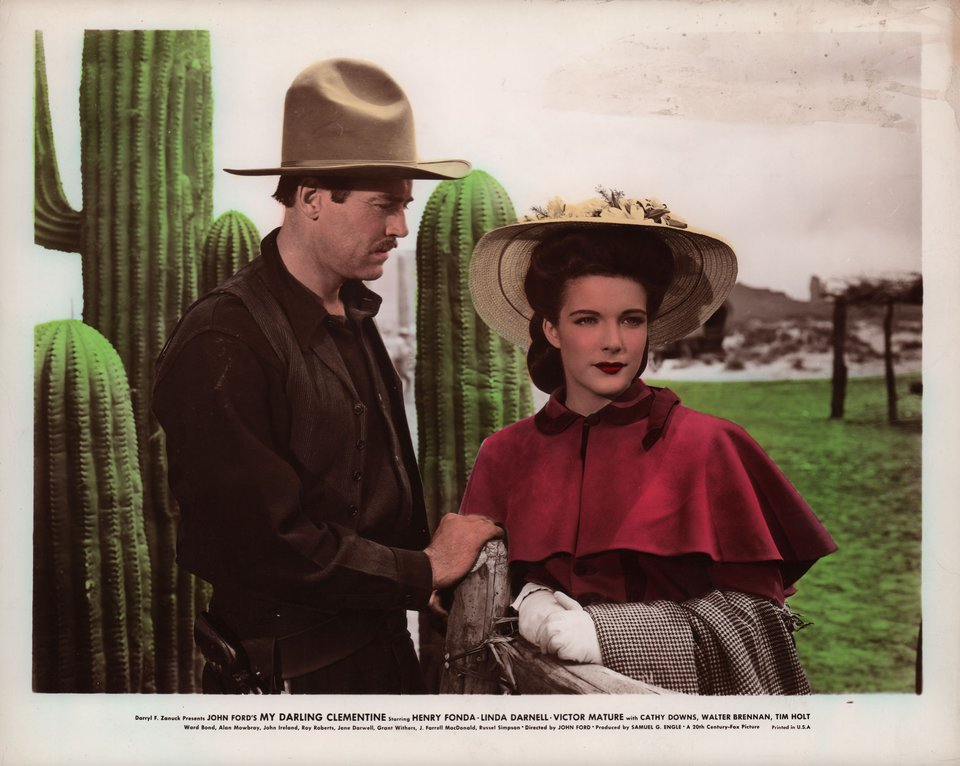 My Darling Clementine 1946 U.S. Color Photo