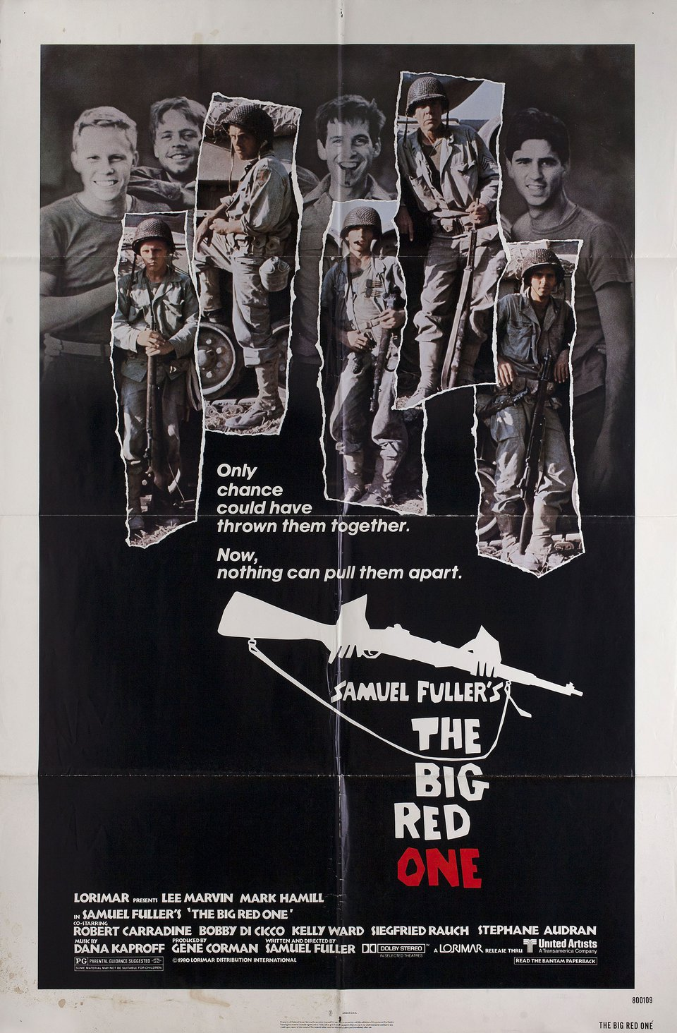 The Big Red One 1980 U.S. One Sheet Poster