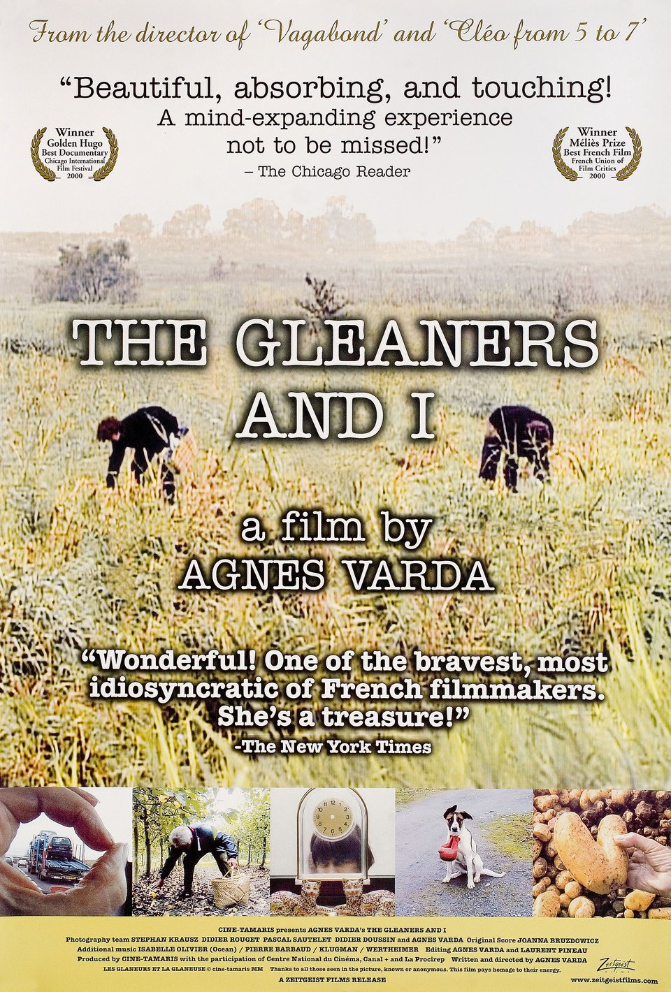 The Gleaners & I 2001 U.S. One Sheet Poster - Posteritati Movie Poster  Gallery