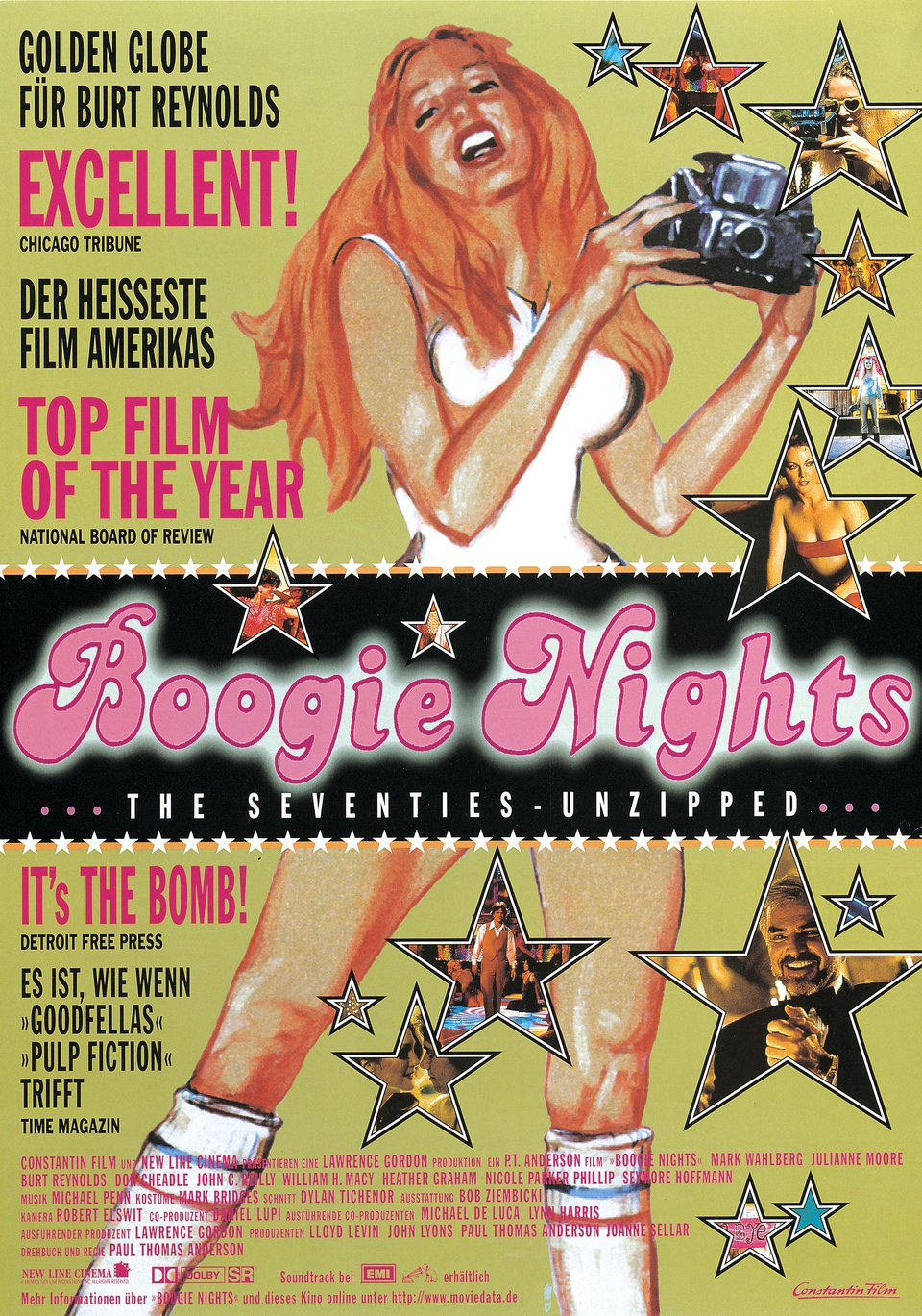 Boogie Nights 1997 German A1 Poster