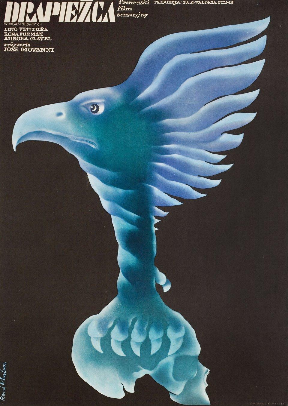 Birds of Prey 1976 Polish A1 Poster