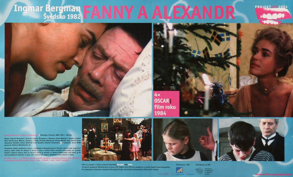 Fanny and Alexander R2004 Czech A3 Poster