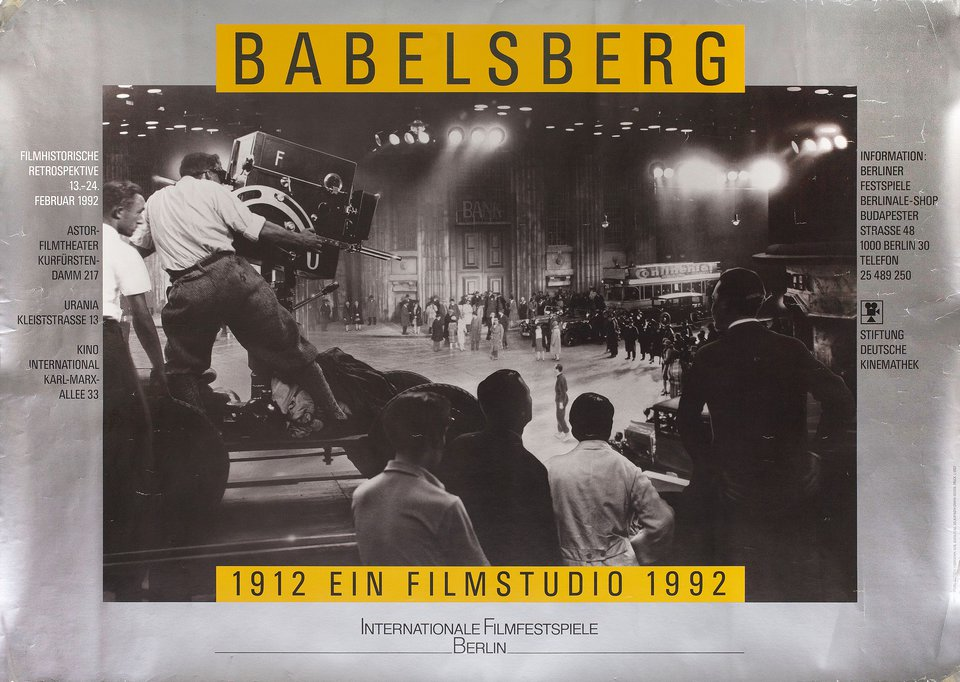 Babelsberg 1992 German A1 Poster