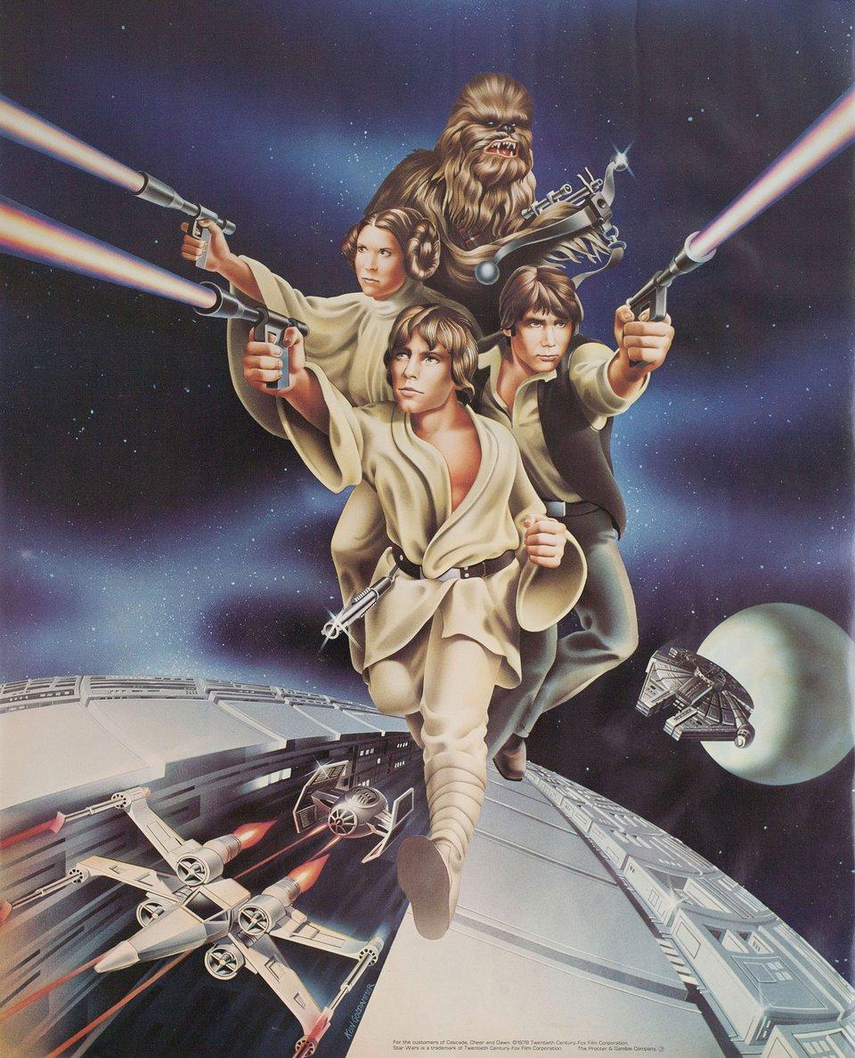 Star Wars 1977 U.S. Poster