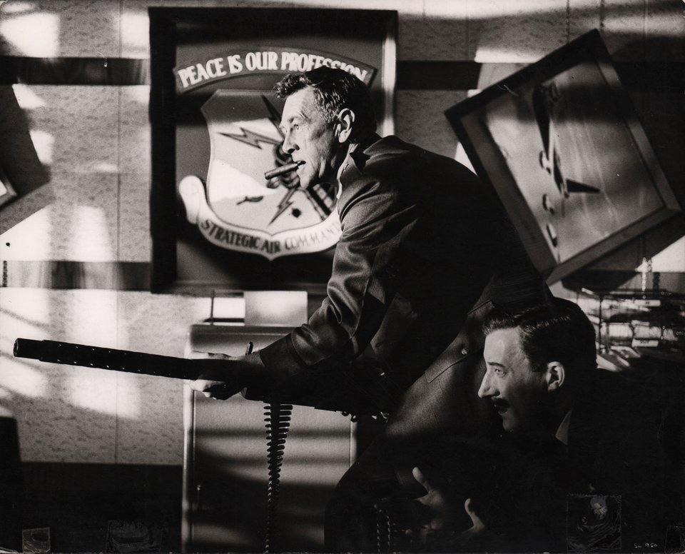 Dr. Strangelove 1964 British Silver Gelatin Single-Weight Photo