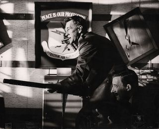 Dr. Strangelove 1964 British Silver Gelatin Single-Weight Photo Alternate Image