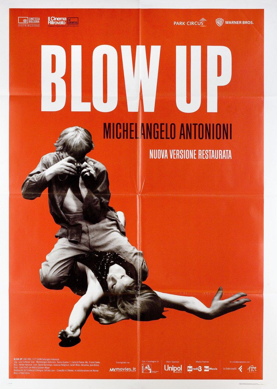 Blow-Up R2018 Italian Due Fogli Poster