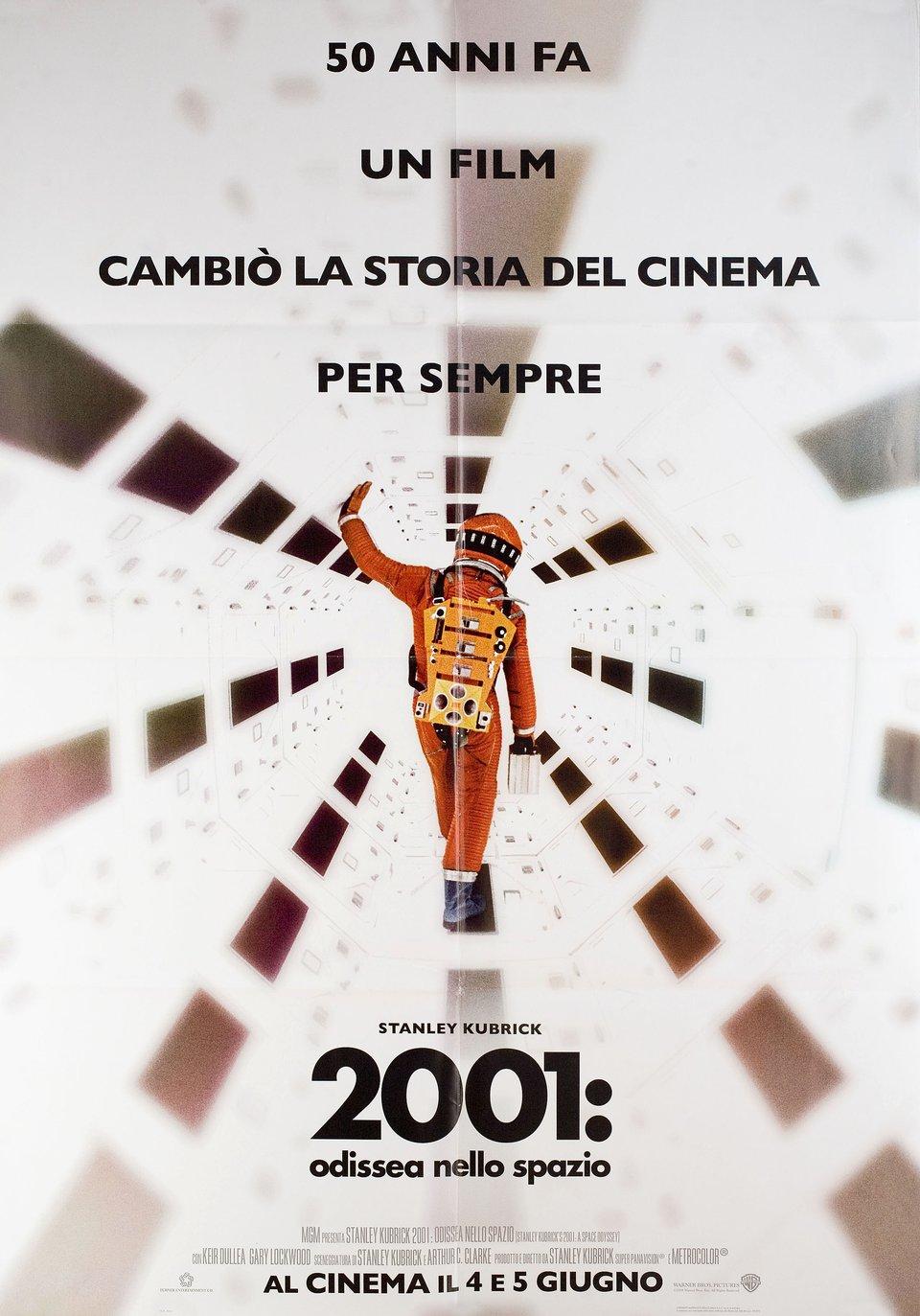 2001: A Space Odyssey R2018 Italian Due Fogli Poster