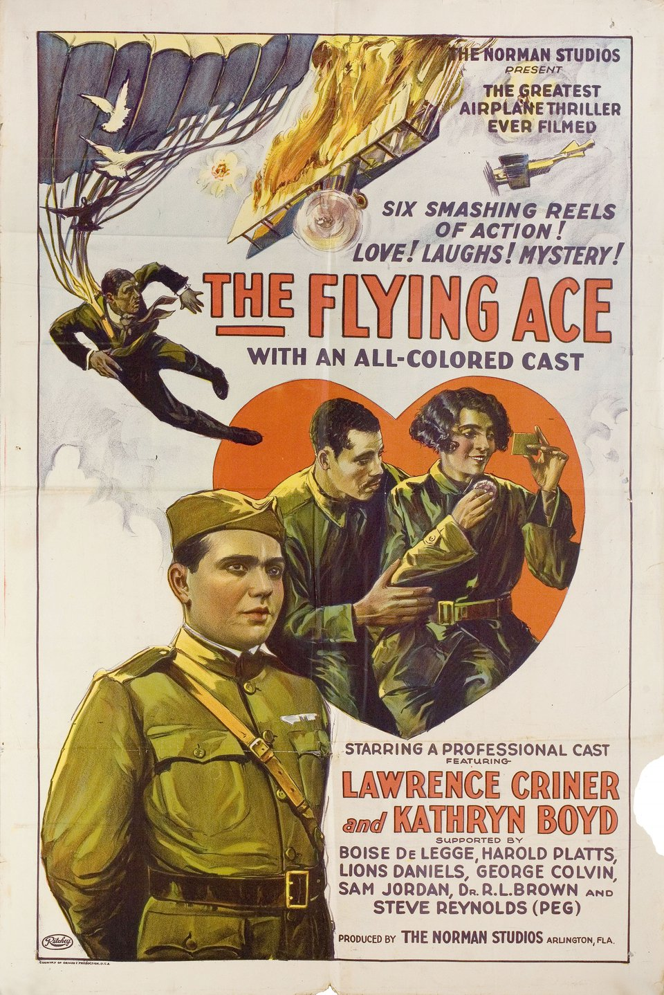 The Flying Ace 1926 U.S. One Sheet Poster