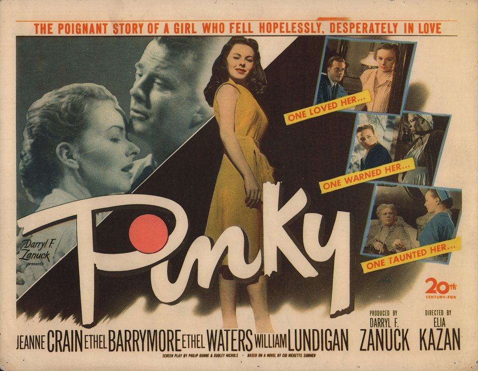 Pinky 1949 U.S. Title Card