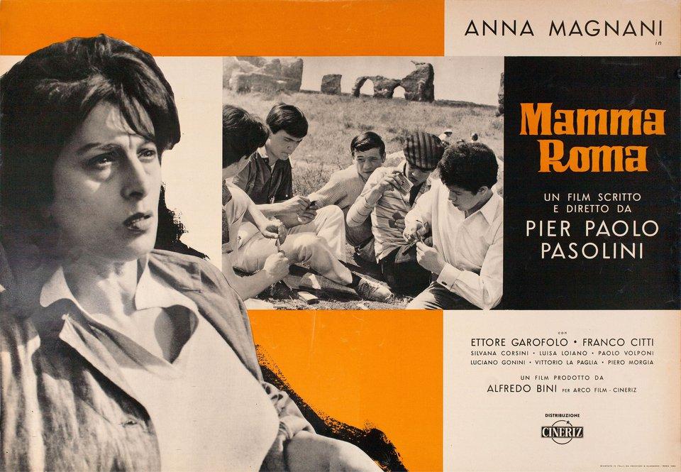 Mamma Roma 1962 Italian Fotobusta Poster