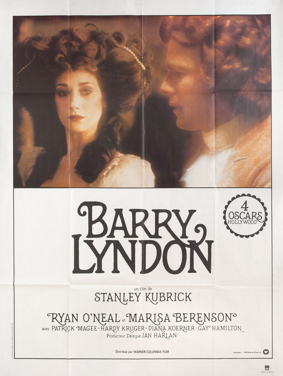 Barry Lyndon R1980s French Grande Poster
