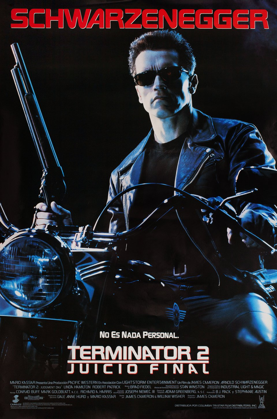 Terminator 2: Judgment Day 1991 U.S. One Sheet Poster