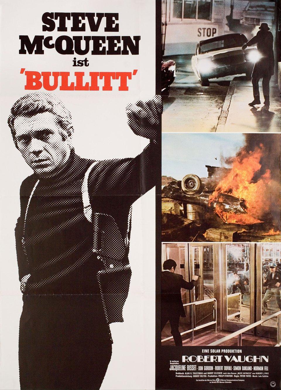 Bullitt R1974 German A1 Poster