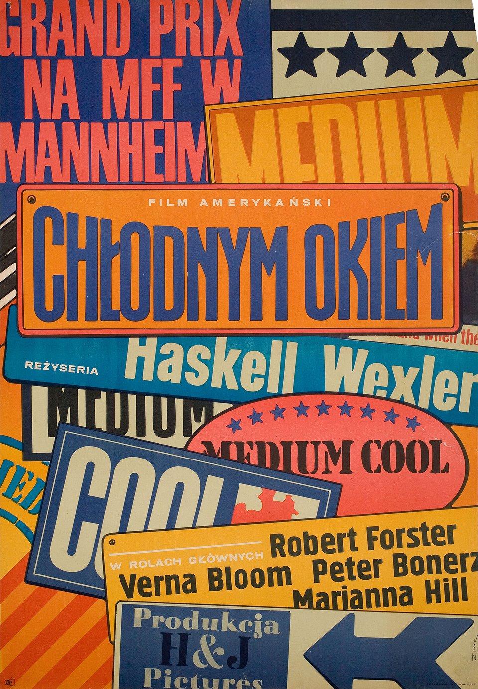Medium Cool 1969 Polish A1 Poster