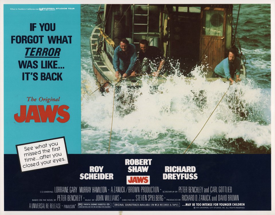 Jaws R1979 U.S. Scene Card