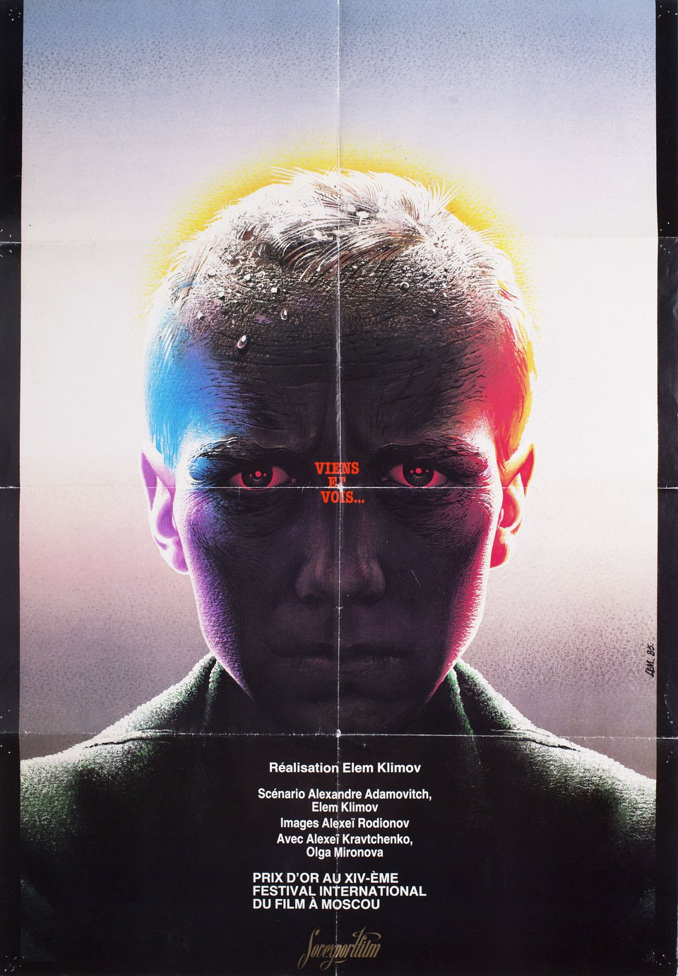 Come and See 1985 Russian B1 Poster