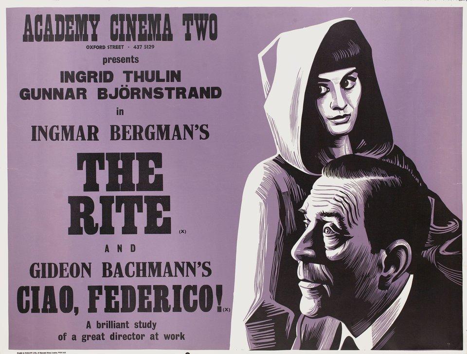 The Rite 1969 British Quad Poster