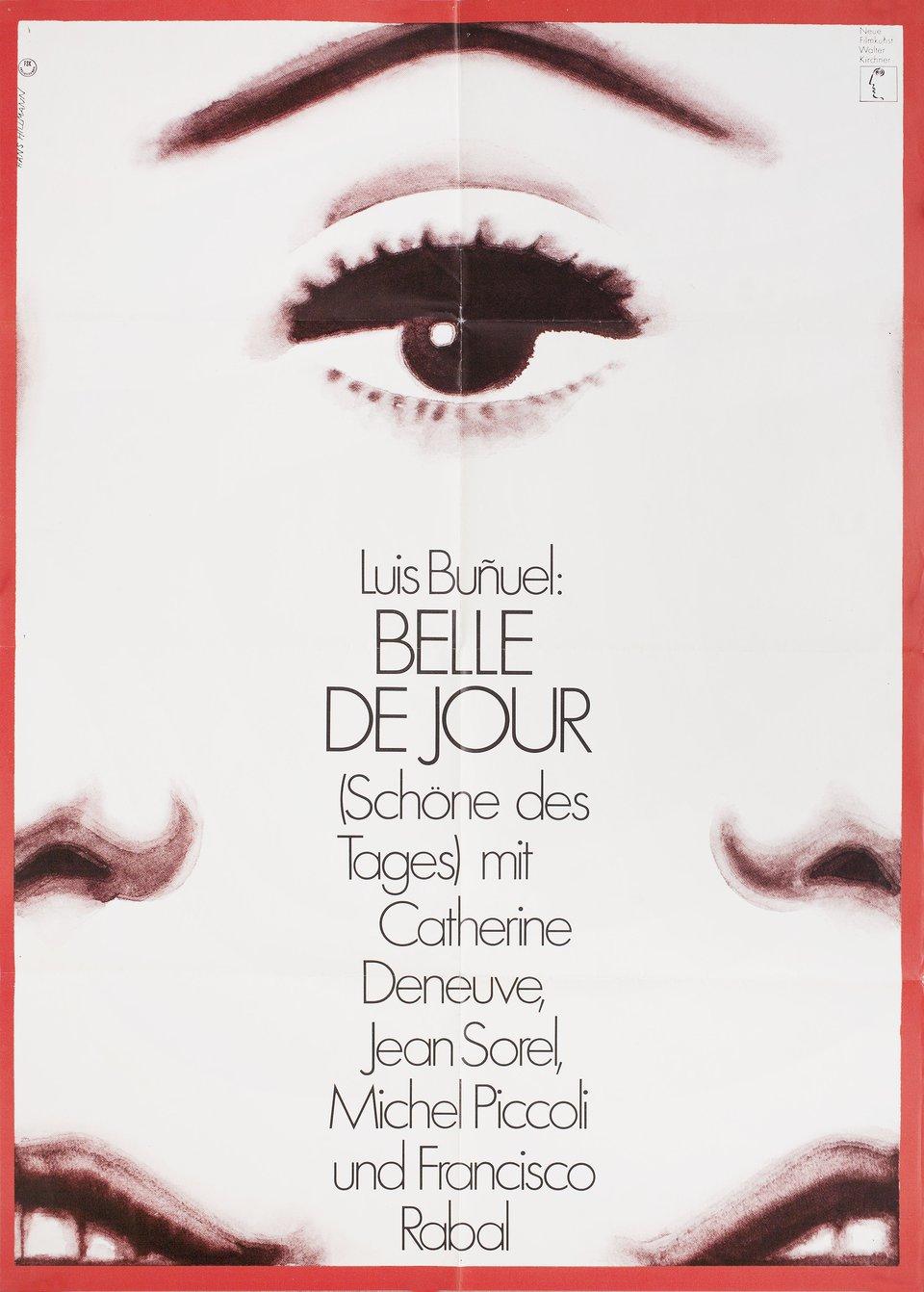 Belle de Jour R1974 German A1 Poster
