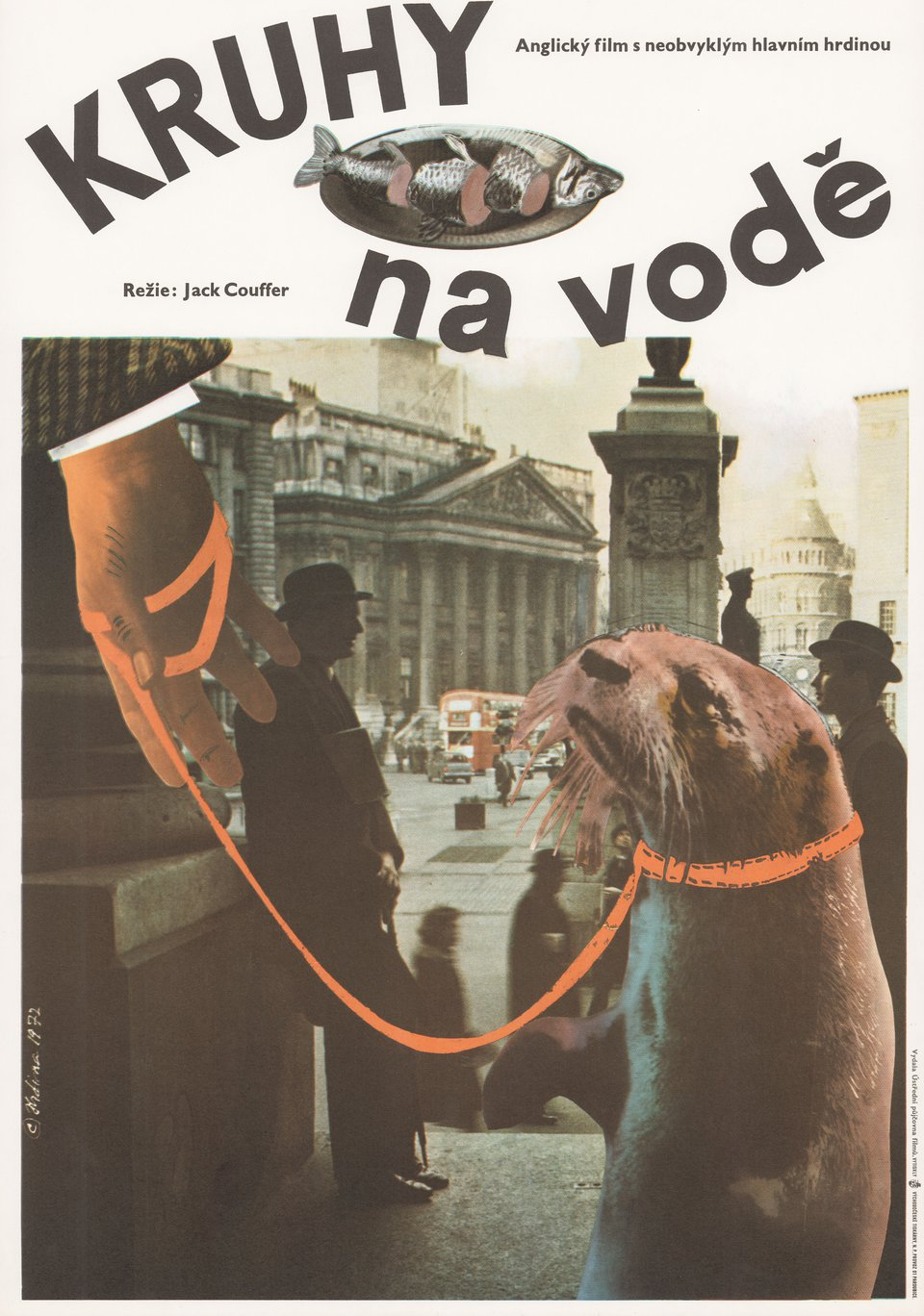 Ring of Bright Water 1972 Czech A3 Poster