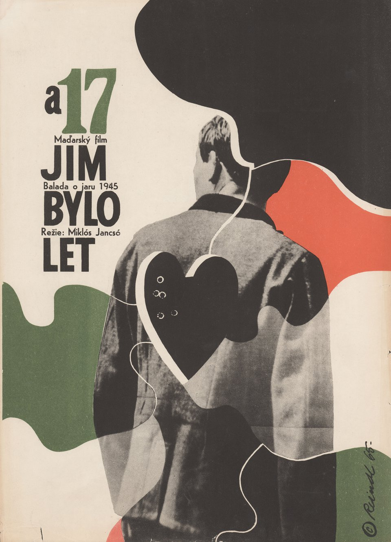 My Way Home 1965 Czech A3 Poster