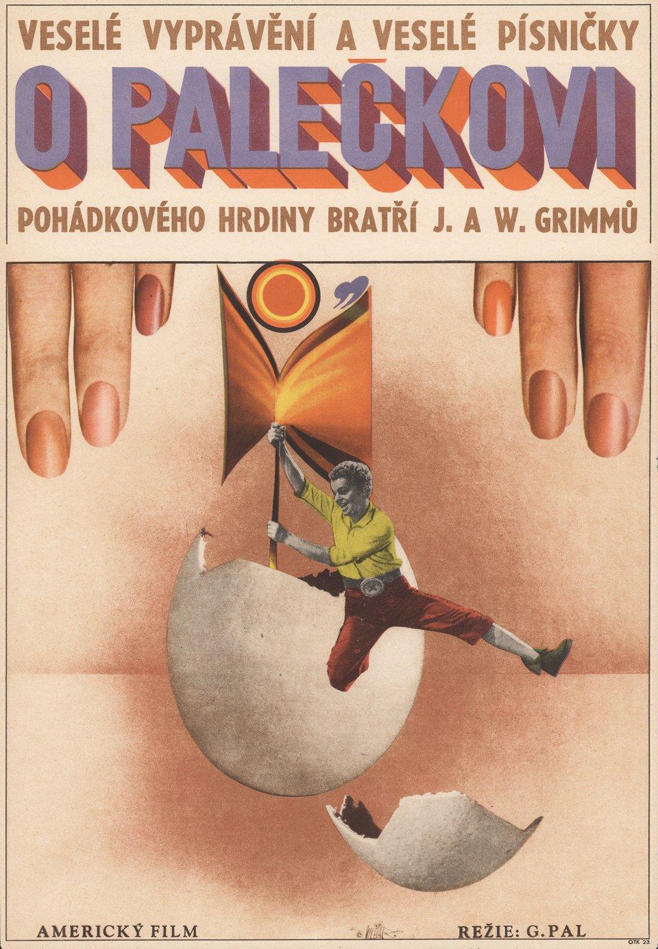 tom thumb 1963 Czech A3 Poster