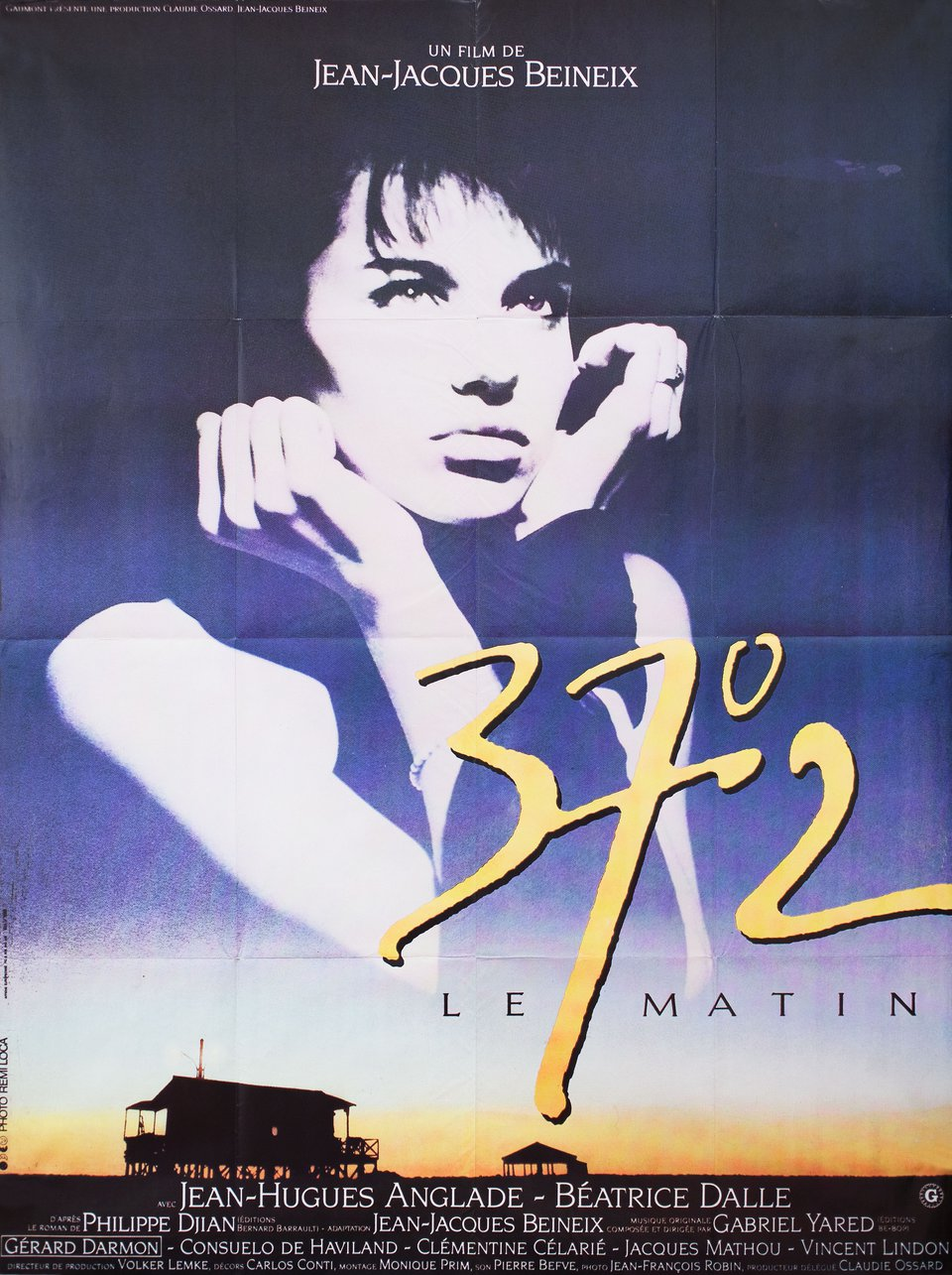 Betty Blue 1986 French Grande Poster