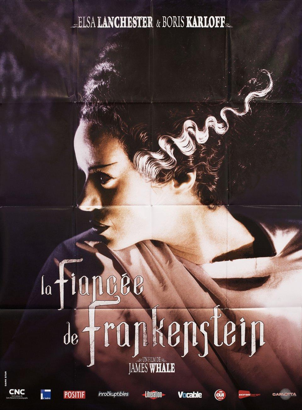 The Bride of Frankenstein R2013 French Grande Poster