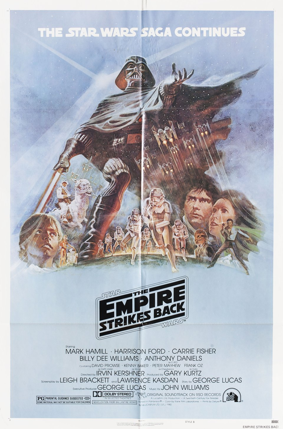 The Empire Strikes Back 1980 U.S. One Sheet Poster