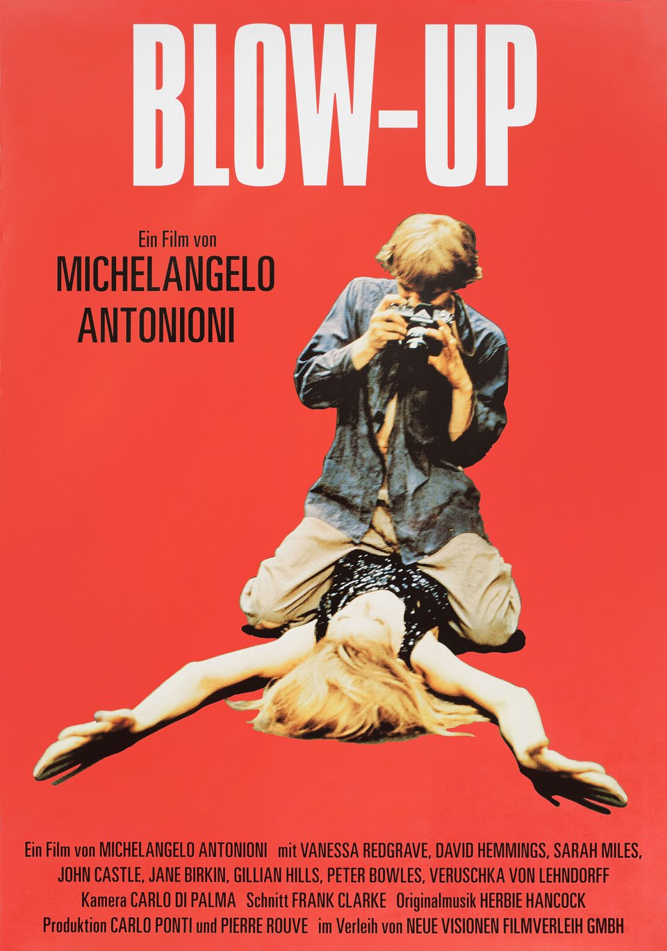Blow-Up R2007 German A1 Poster
