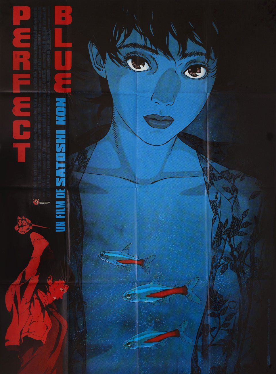 Perfect Blue 1997 French Grande Poster