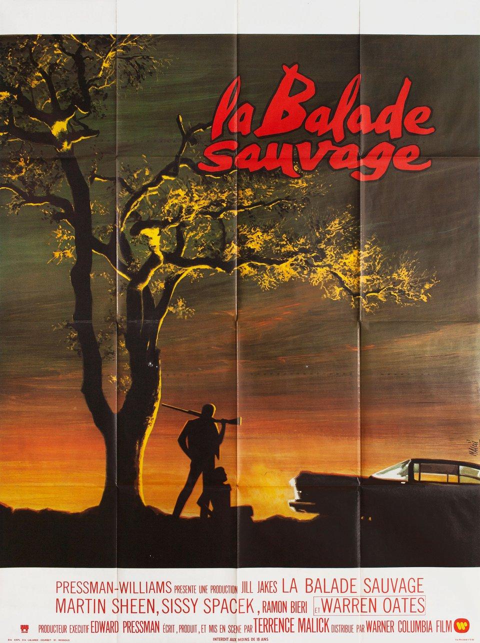 Badlands 1974 French Grande Poster