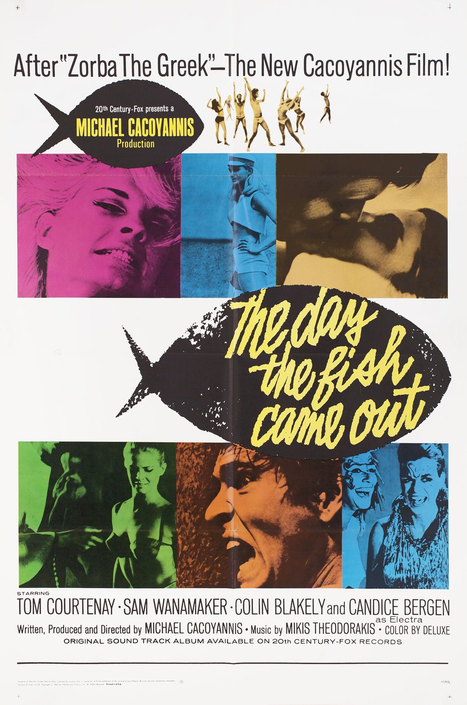 The Day the Fish Came Out 1967 U.S. One Sheet Poster
