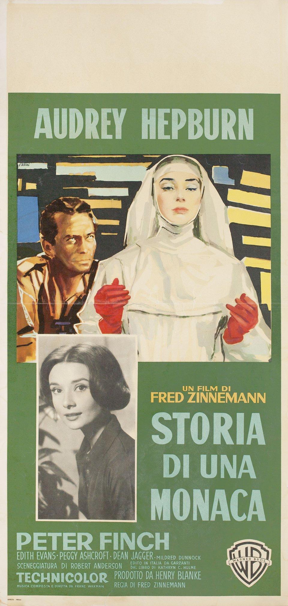 The Nun's Story 1962 Italian Locandina Poster